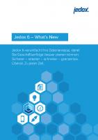 Jedox 6 – What´s New