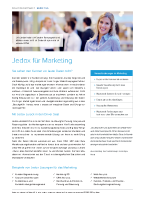 Jedox für Marketing