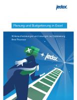 Jedox – Planung-und-Budgetierung-in-Excel