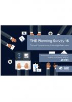 BARC Planning Survey 2016
